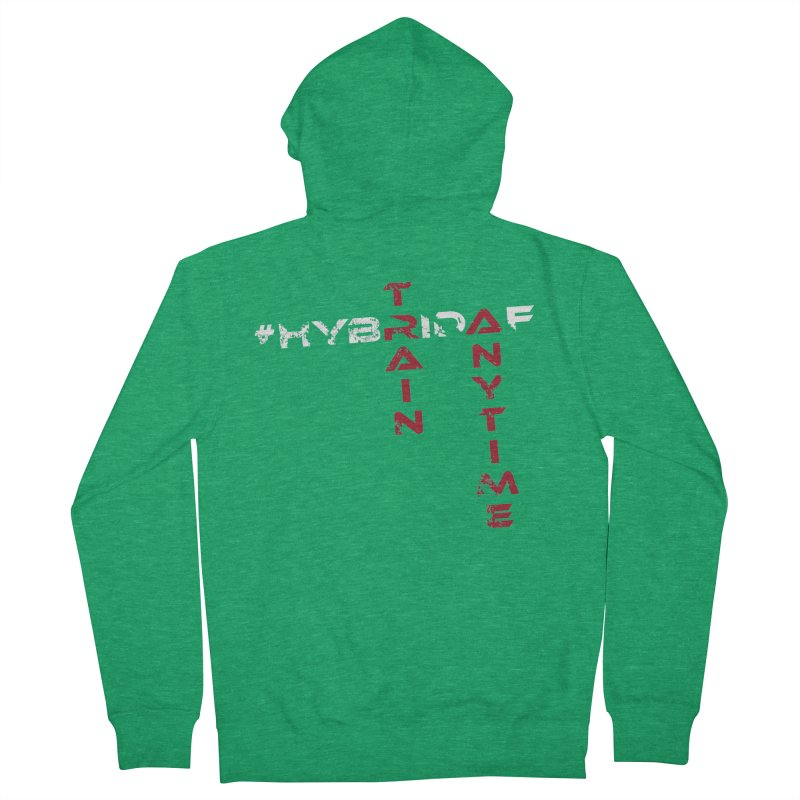 HybridAF v2 Men's Zip-Up Hoody by HybridAF Shop