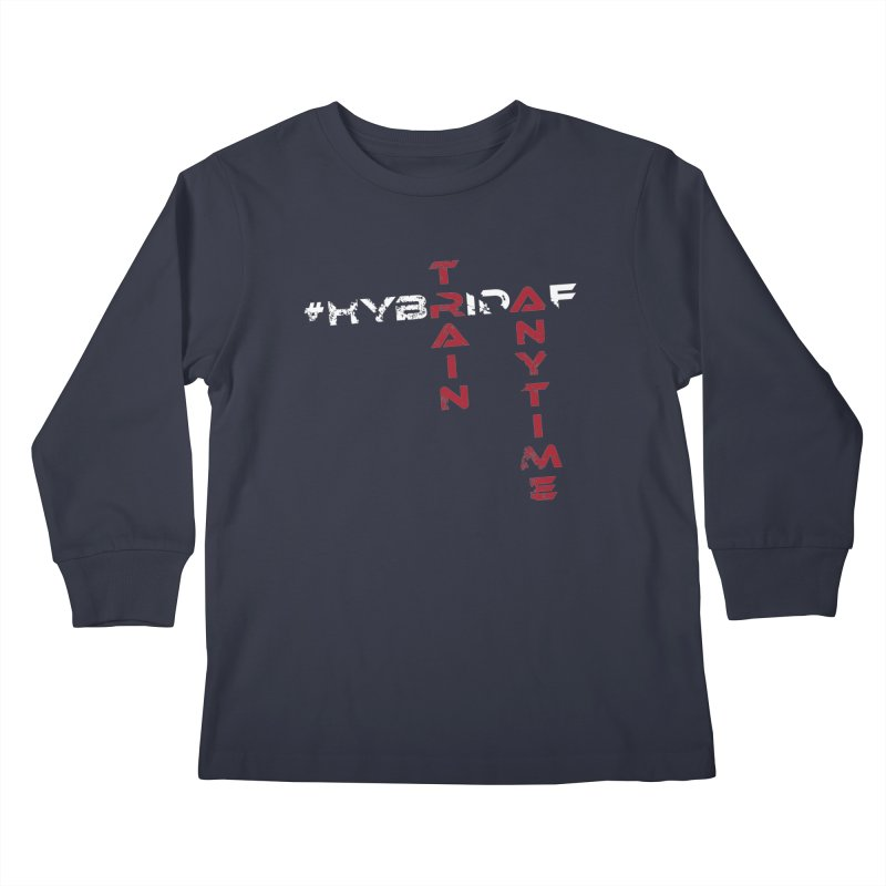 HybridAF v2 Kids Longsleeve T-Shirt by HybridAF Shop