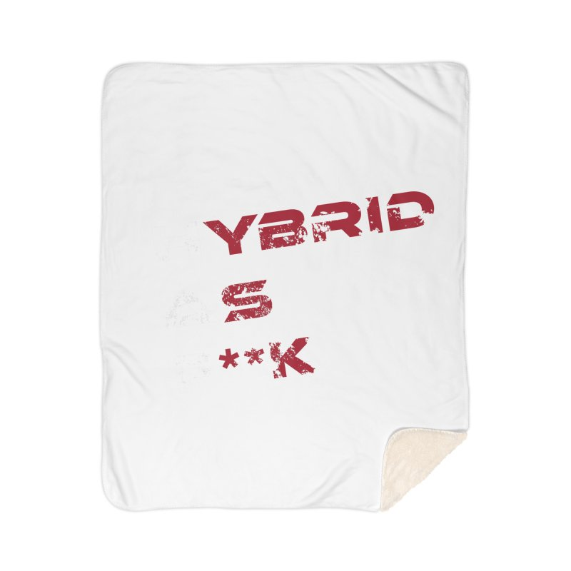 Hybrid As What? Home Blanket by HybridAF Shop