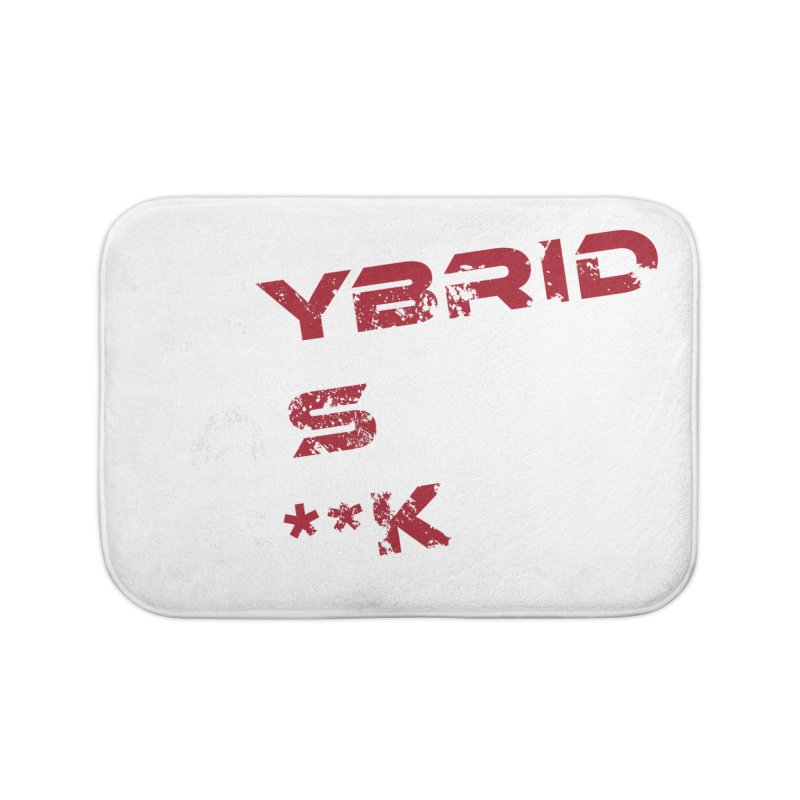 Hybrid As What? Home Bath Mat by HybridAF Shop