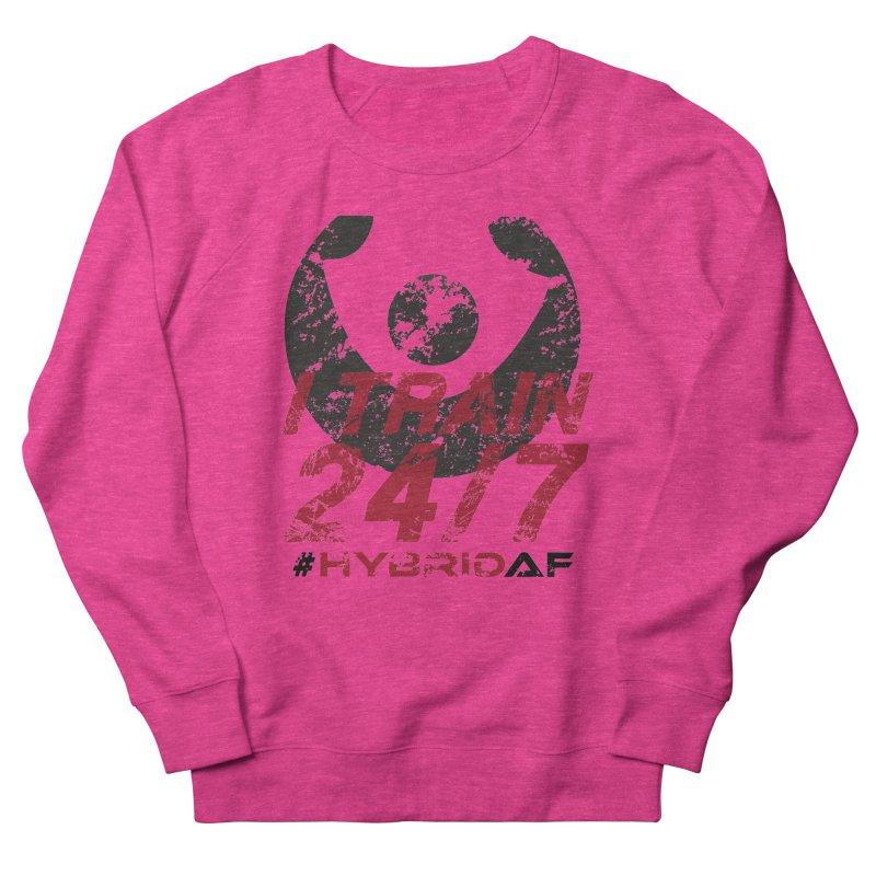 I Train 24/7 Men's Sweatshirt by HybridAF Shop