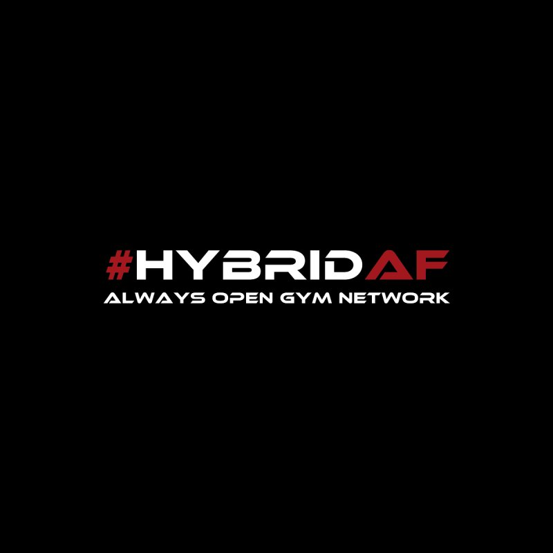 HybridAF - Always Open Gym Network Accessories Phone Case by HybridAF Shop