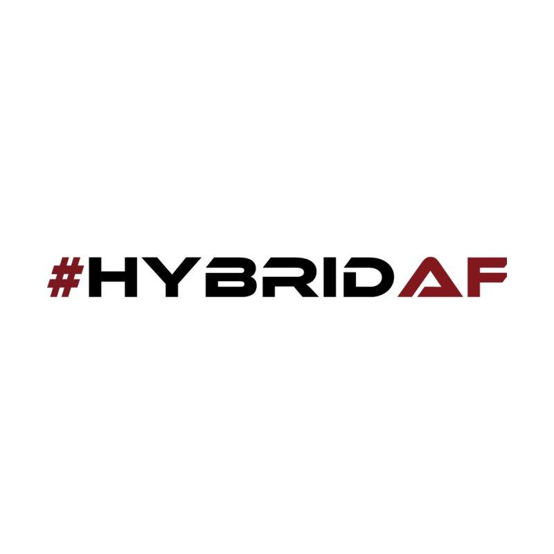 HybridAF - Original (Black) Women's Longsleeve T-Shirt by HybridAF Shop