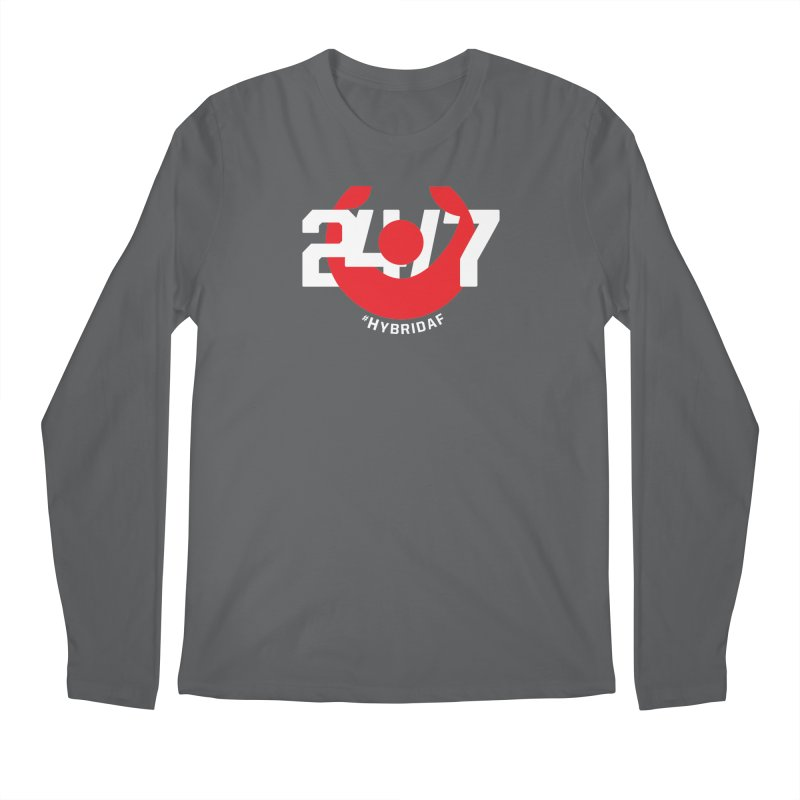 24/7 Hybrid Men's Longsleeve T-Shirt by HybridAF Shop