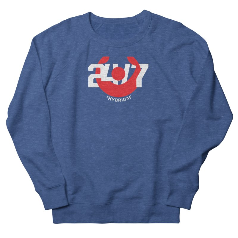 24/7 Hybrid Women's Sweatshirt by HybridAF Shop