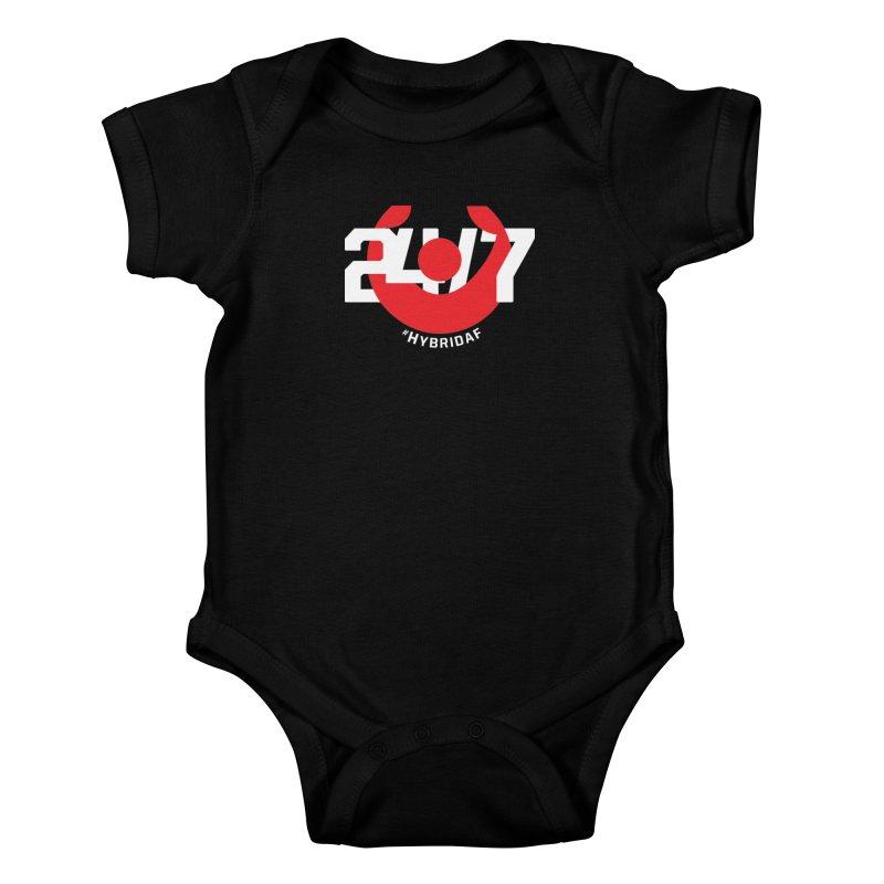 24/7 Hybrid Kids Baby Bodysuit by HybridAF Shop