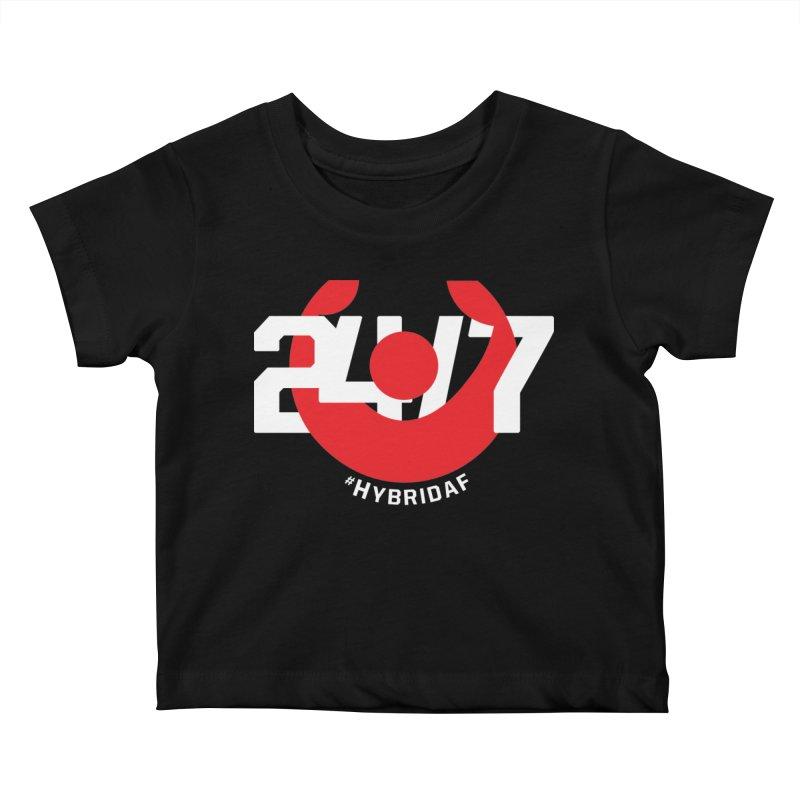 24/7 Hybrid Kids Baby T-Shirt by HybridAF Shop
