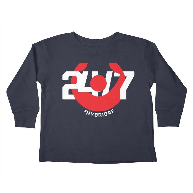 24/7 Hybrid Kids Toddler Longsleeve T-Shirt by HybridAF Shop