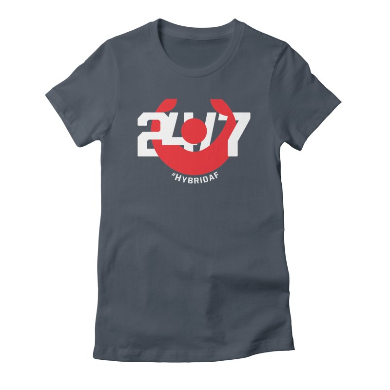 24/7 Hybrid Women's T-Shirt by HybridAF Shop