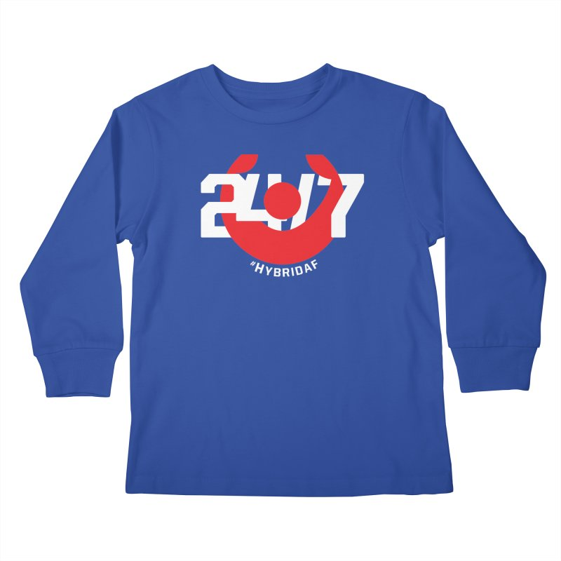 24/7 Hybrid Kids Longsleeve T-Shirt by HybridAF Shop