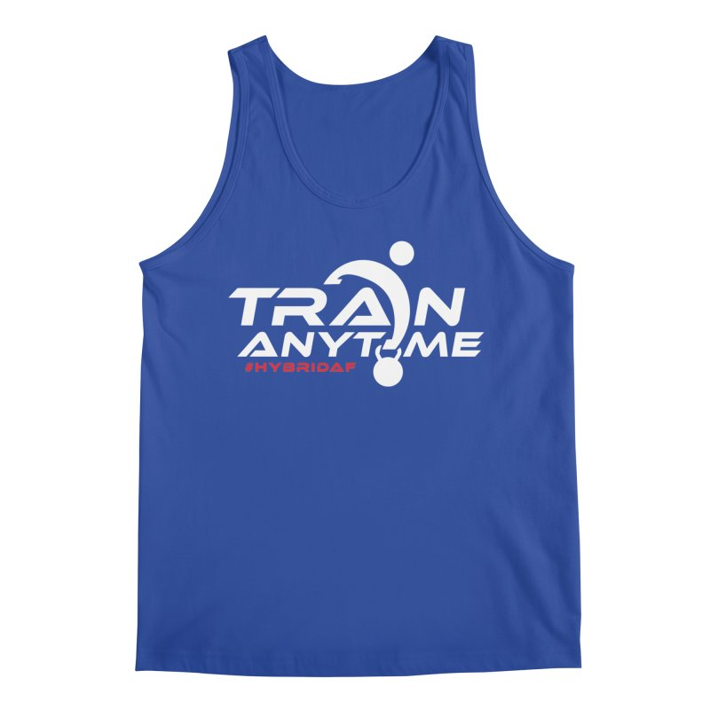 Train Anytime Men's Tank by HybridAF Shop