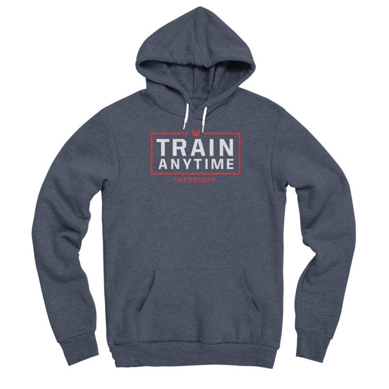Train Anytime V2 Women's Pullover Hoody by HybridAF Shop