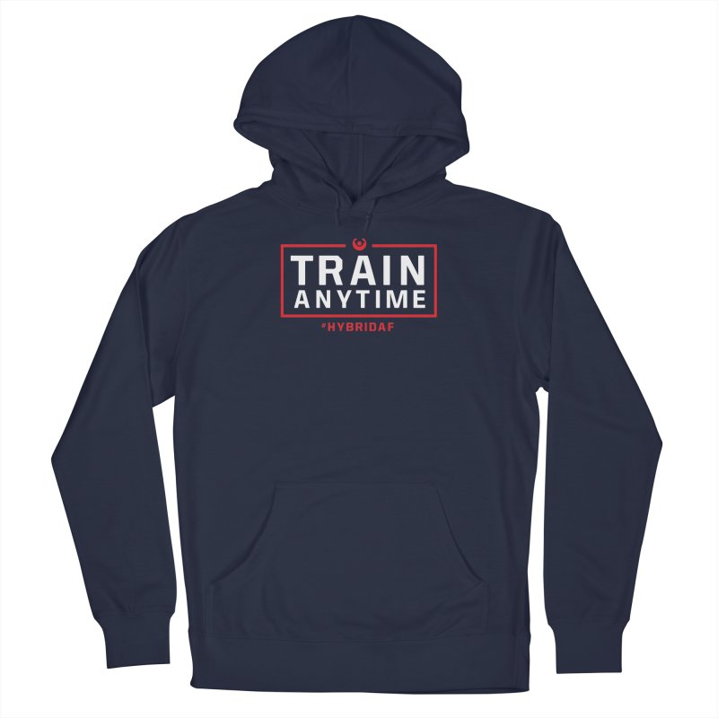 Train Anytime V2 Men's Pullover Hoody by HybridAF Shop