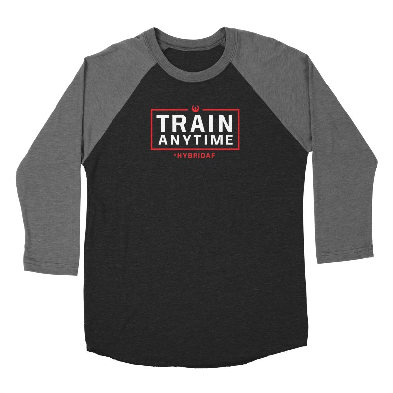 Train Anytime V2 Women's Longsleeve T-Shirt by HybridAF Shop