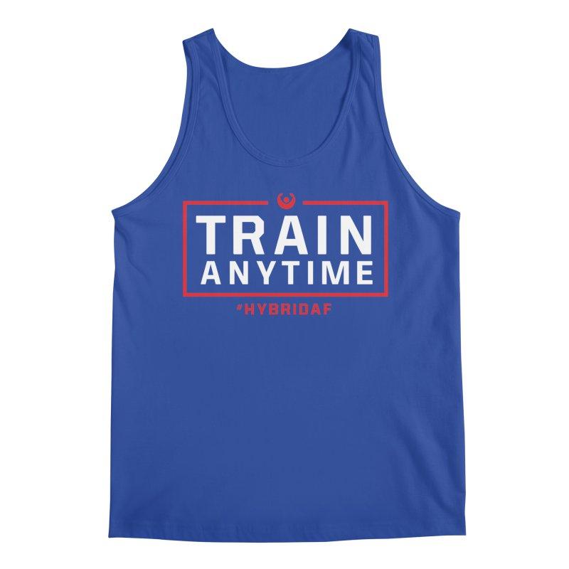 Train Anytime V2 Men's Tank by HybridAF Shop