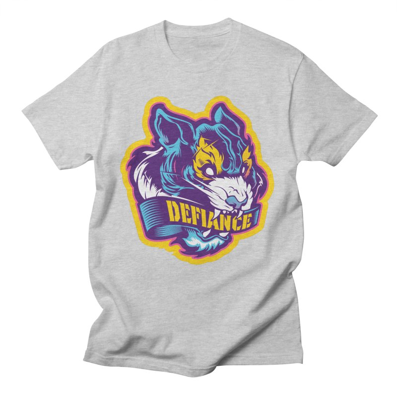 Defiance Tiger Men's T-Shirt by HYDRO74