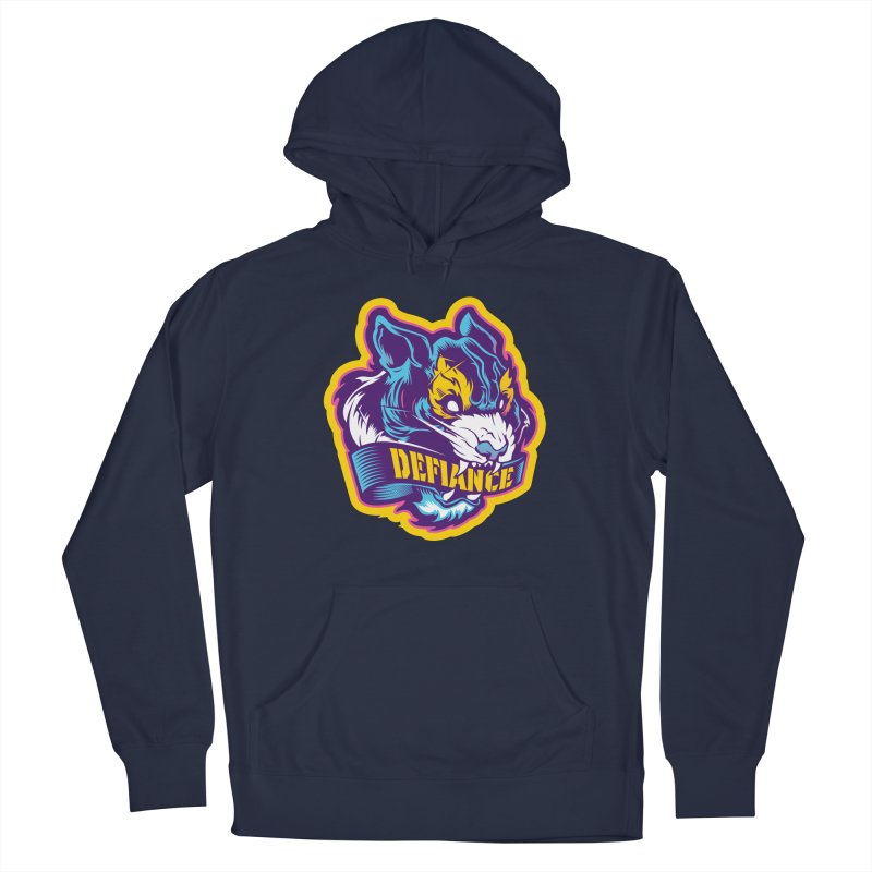 Defiance Tiger Men's Pullover Hoody by HYDRO74