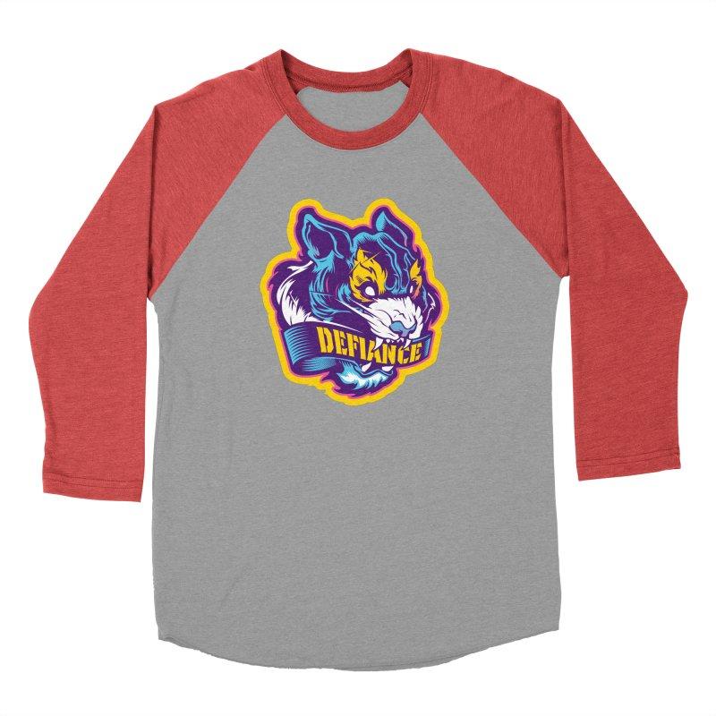 Defiance Tiger Women's Longsleeve T-Shirt by HYDRO74