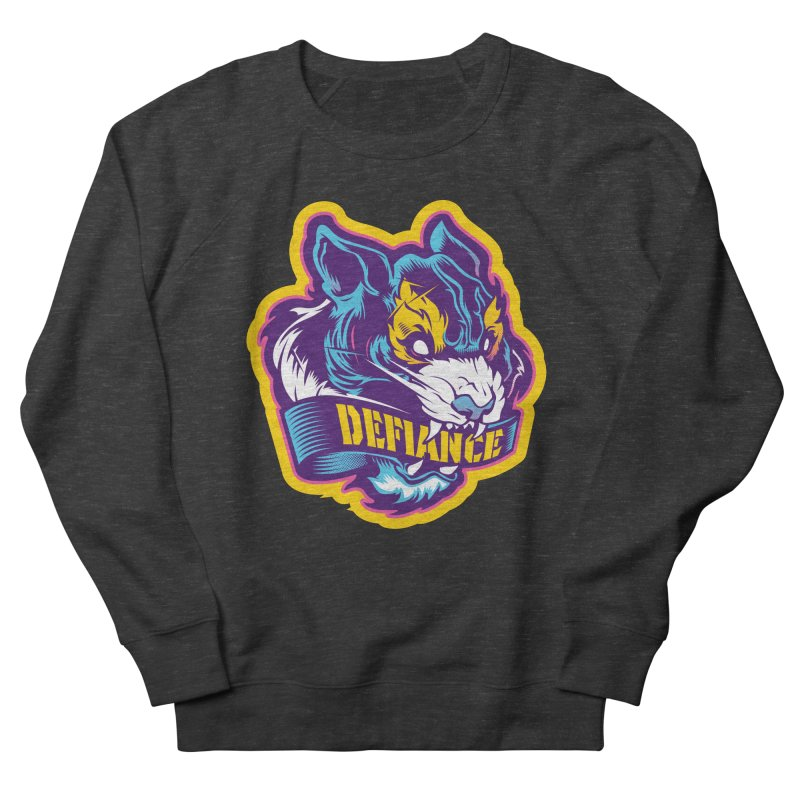 Defiance Tiger Men's Sweatshirt by HYDRO74