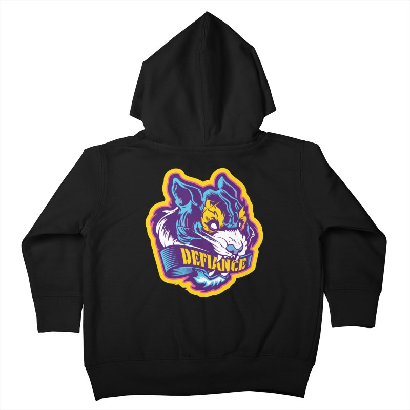 Defiance Tiger Kids Toddler Zip-Up Hoody by HYDRO74