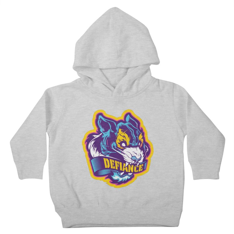 Defiance Tiger Kids Toddler Pullover Hoody by HYDRO74