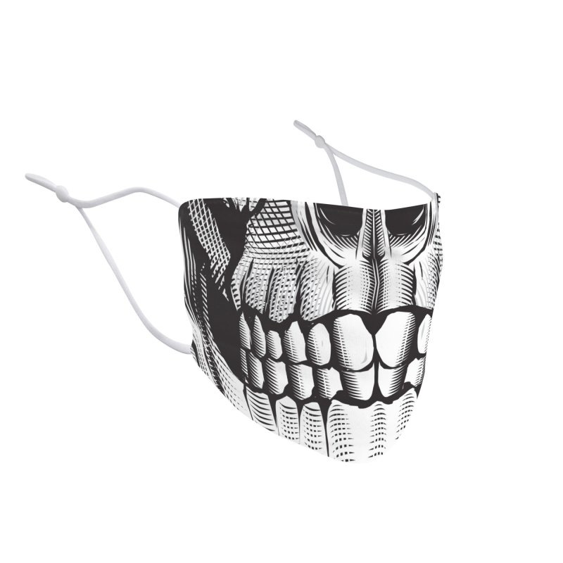 Skull Face Accessories Face Mask by HYDRO74