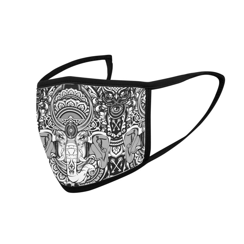 Ganesha Accessories Face Mask by HYDRO74