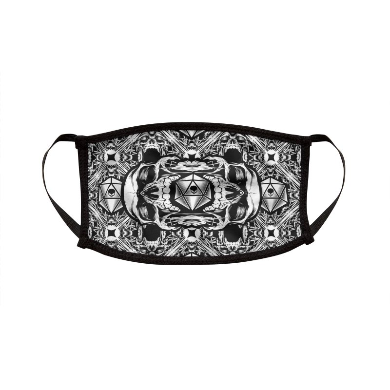 Death Roll Accessories Face Mask by HYDRO74