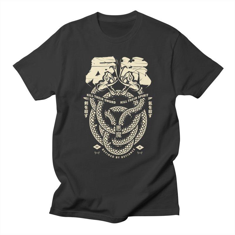 Defiance Viper in Men's Regular T-Shirt Smoke by HYDRO74