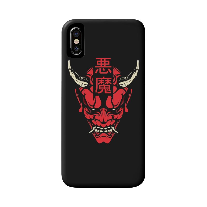 Demon Accessories Phone Case by HYDRO74