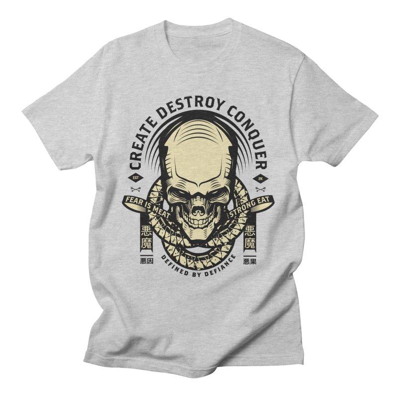 Destroy v2 Men's T-Shirt by HYDRO74