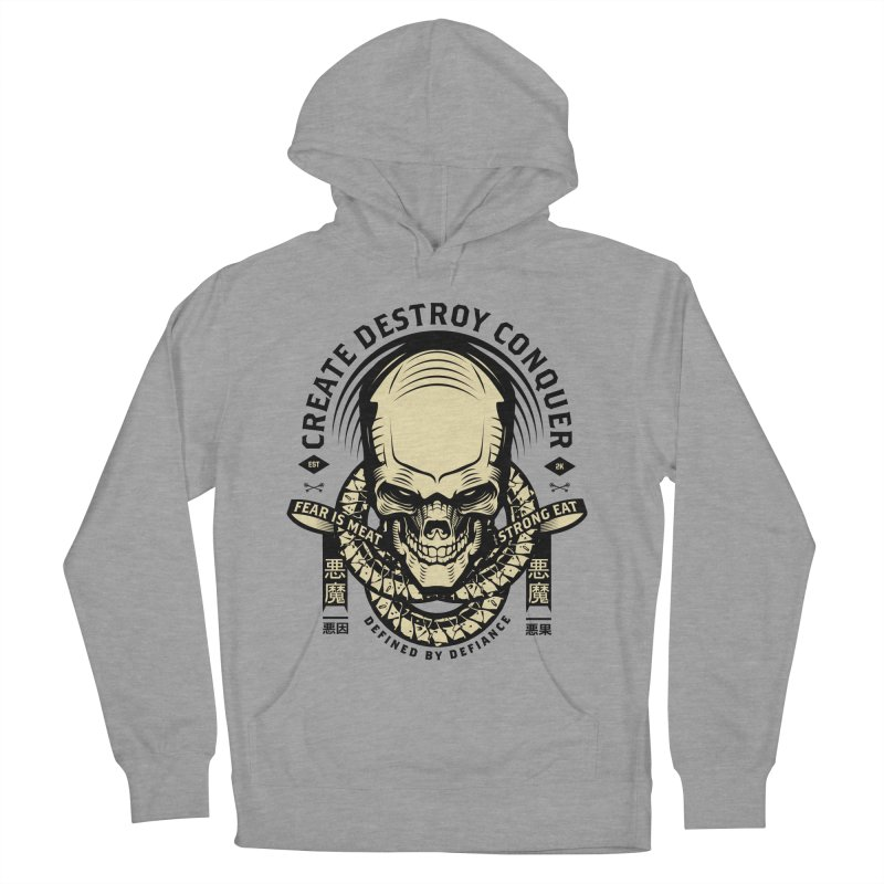 Destroy v2 Men's French Terry Pullover Hoody by HYDRO74
