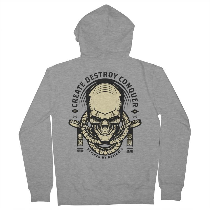 Destroy v2 Men's French Terry Zip-Up Hoody by HYDRO74