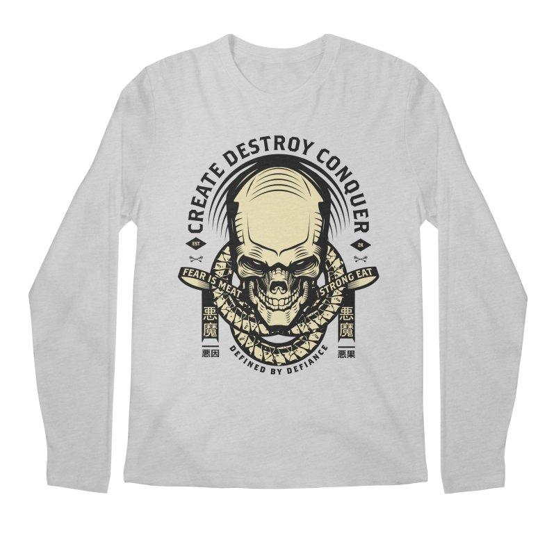 Destroy v2 Men's Longsleeve T-Shirt by HYDRO74