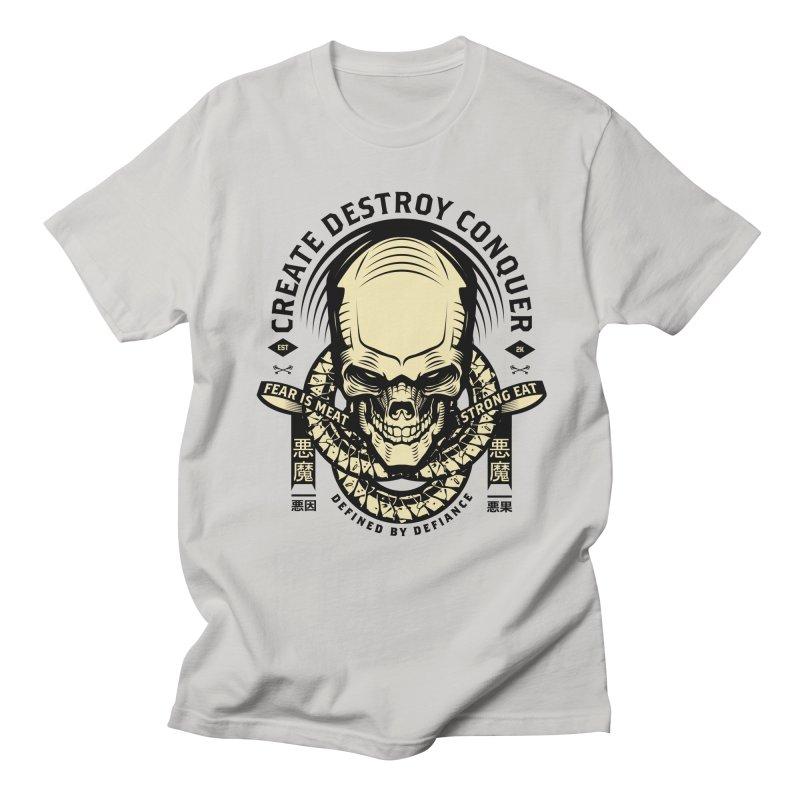 Destroy v2 Men's Regular T-Shirt by HYDRO74