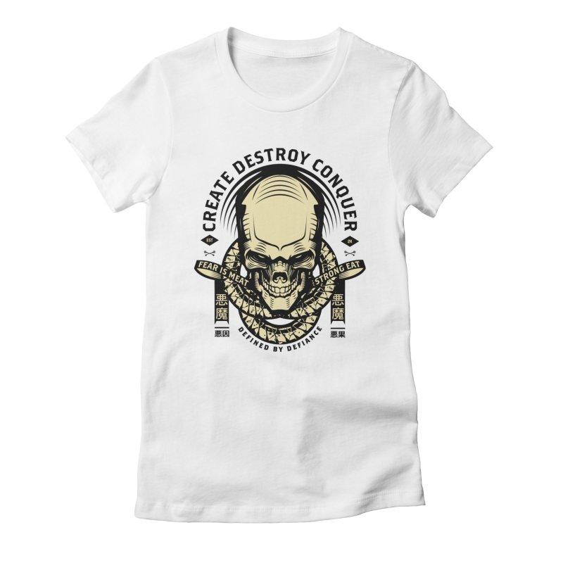 Destroy v2 Women's T-Shirt by HYDRO74