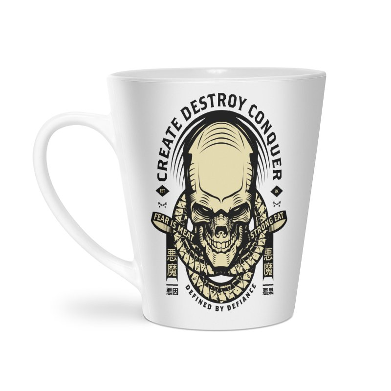 Destroy v2 Accessories Latte Mug by HYDRO74