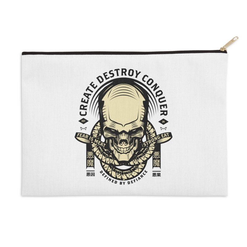 Destroy v2 Accessories Zip Pouch by HYDRO74
