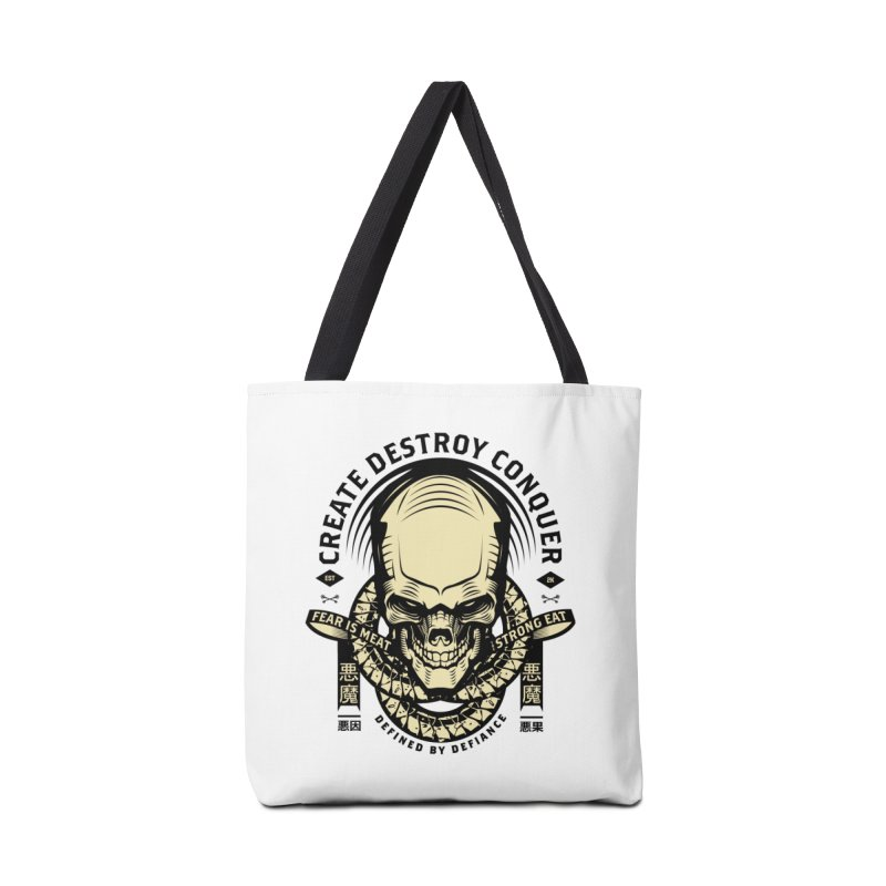 Destroy v2 Accessories Tote Bag Bag by HYDRO74
