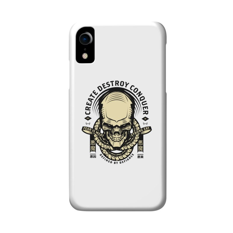 Destroy v2 Accessories Phone Case by HYDRO74