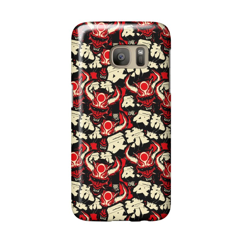 Demon Pattern Accessories Phone Case by HYDRO74