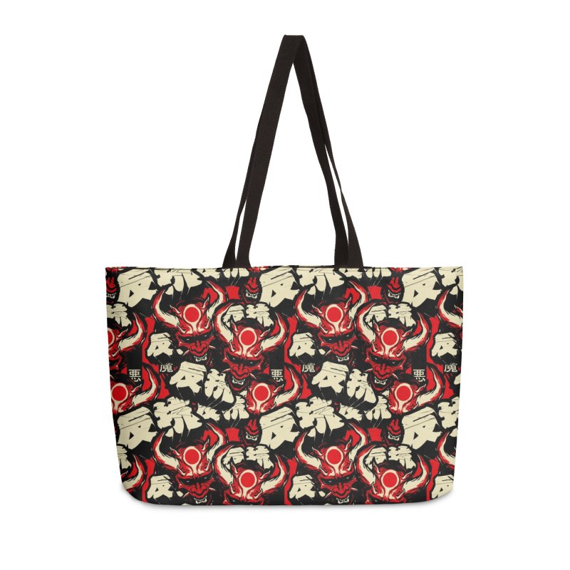 Demon Pattern Accessories Bag by HYDRO74