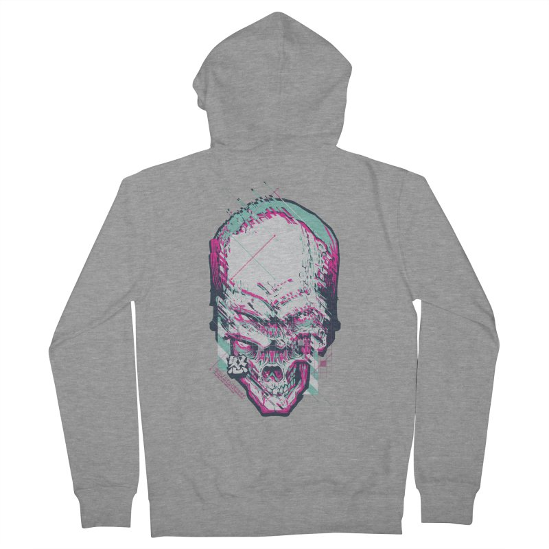 R3B00T Men's French Terry Zip-Up Hoody by HYDRO74