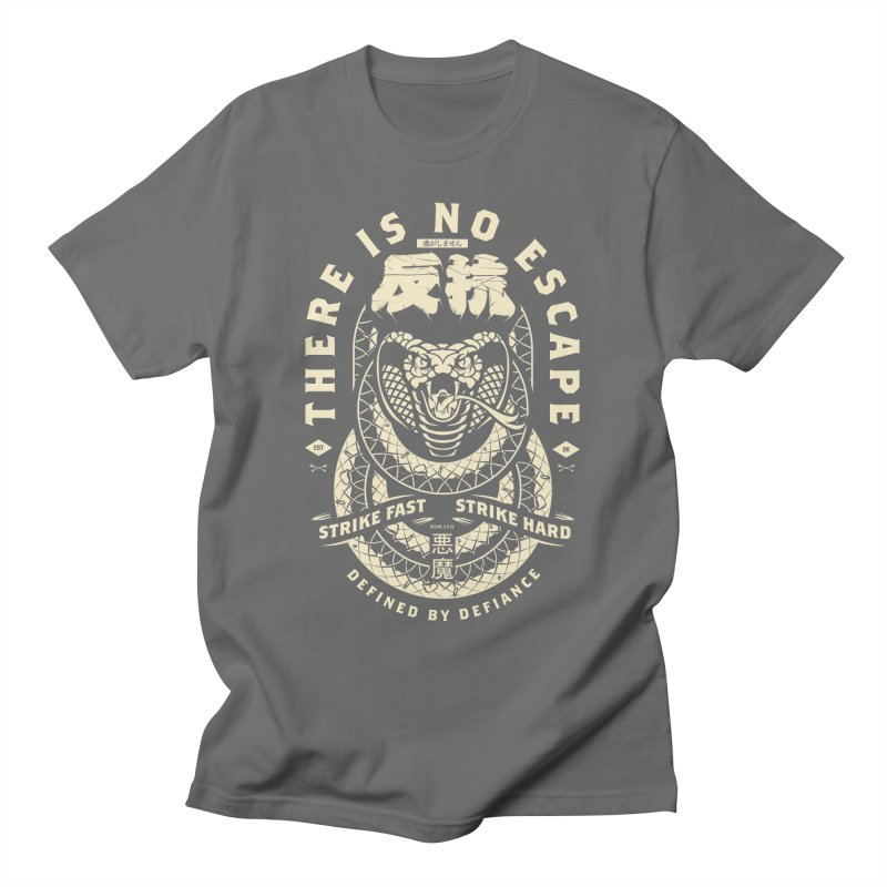 Strike Hard. Men's T-Shirt by HYDRO74