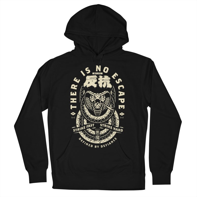 Strike Hard. Men's French Terry Pullover Hoody by HYDRO74