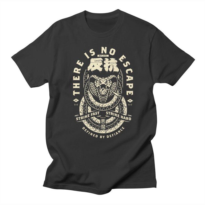 Strike Hard. Men's Regular T-Shirt by HYDRO74