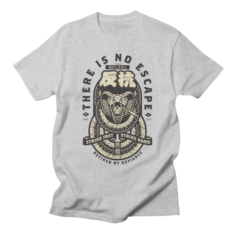 Strike Hard Men's T-Shirt by HYDRO74