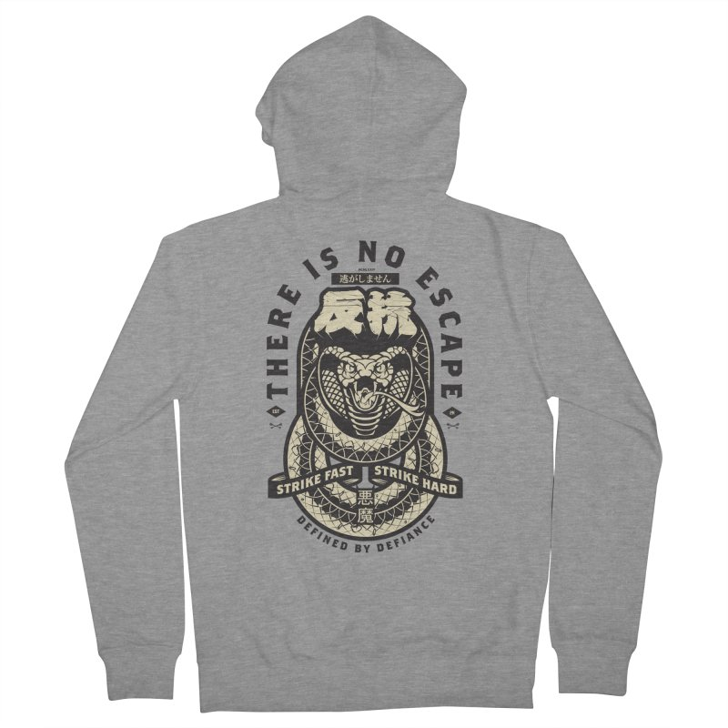 Strike Hard Men's French Terry Zip-Up Hoody by HYDRO74