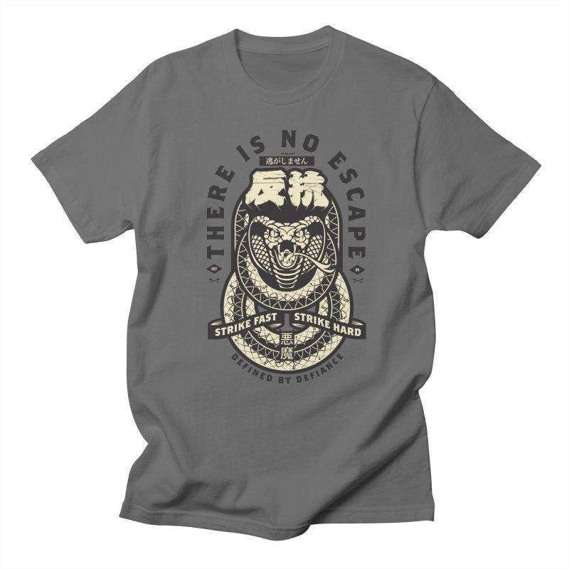 Strike Hard in Men's Regular T-Shirt Asphalt by HYDRO74