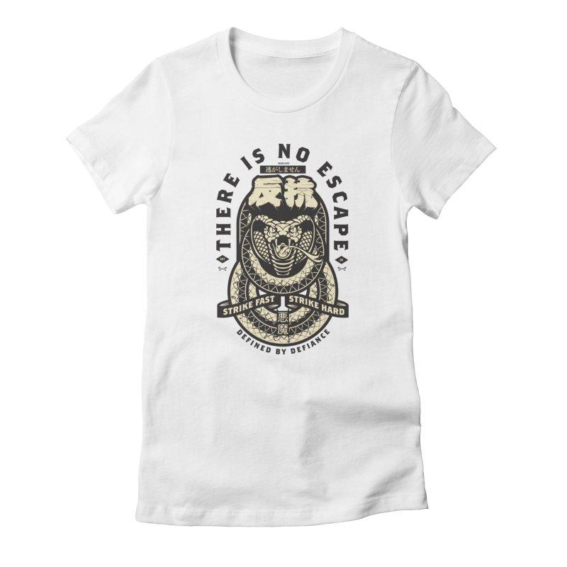 Strike Hard Women's T-Shirt by HYDRO74